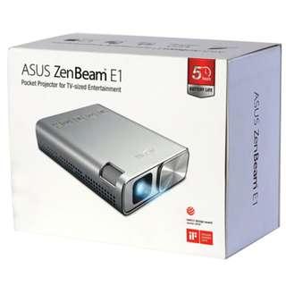 ASUS ZENBEAM E1 行動掌上式LED投影機