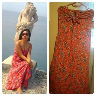 Maxi Floral Dress (S to M) REPRICED!!!