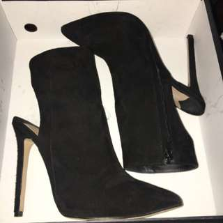 Tony Bianco - Suede High Heel Boots
