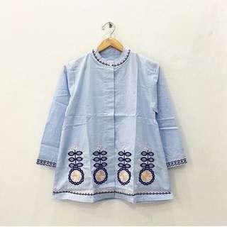 Atasan Blue / Baju