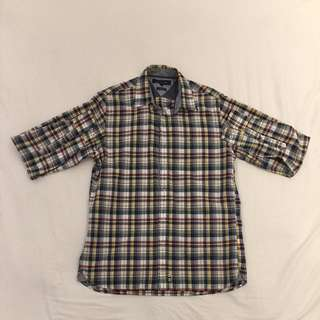 Tommy Hilfiger Long Sleeve Flannel Shirt