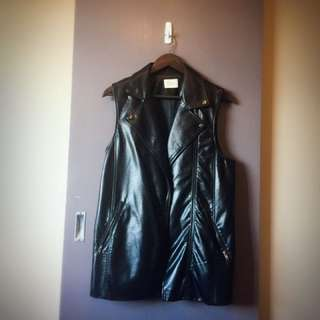 Feaux Leather Vest