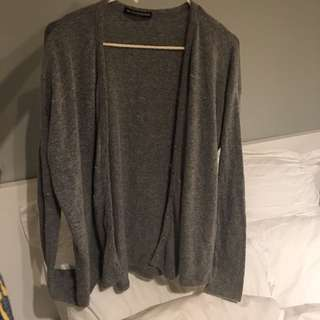 Brandy Melville Grey Cartigan