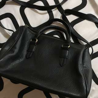 Pull and Bear Sling bag black