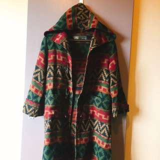 Aztec Fleecy/flannel Coat
