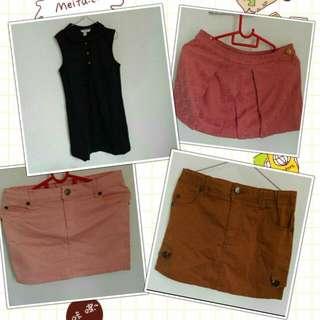 new poney dress/skirt/jeans combo