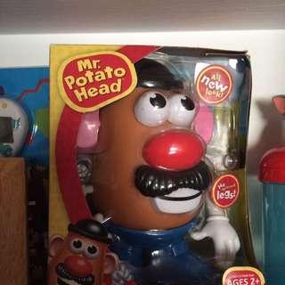 蛋頭先生組裝玩具