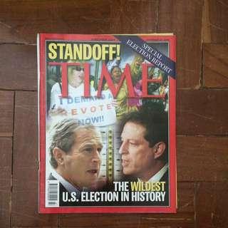 TIME Magazine November 20, 2000 Issue