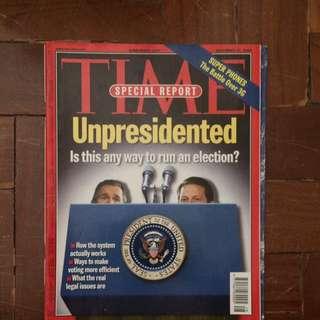 TIME Magazine November 27, 2000 Issue