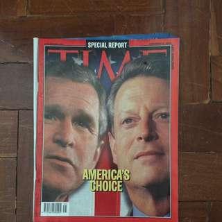TIME Magazine November 6, 2000 Issue
