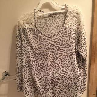 Rivers Leopard Print Top