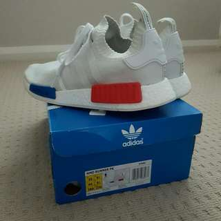 NMD OG PK white mens us 10