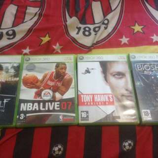 Xbox 360 Games CD Orginal