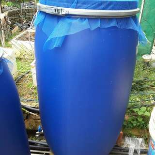 Plastic Containers For Rain Water Collection To Reduce YOUR Water Costs When You Water Your Garden