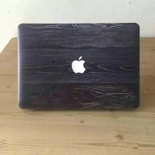 Wood  Design Macbook Cases