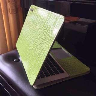 croco leather case for mac air
