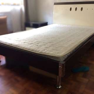 RUSH! Semi Double Bed