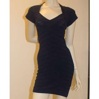 French Connection Blue Dress Size 8
