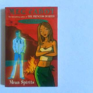 The Mediator - Mean Spirits by: Meg Cabot