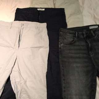 Jac + Jack Pants and Sass & Bide Jeans Bundle