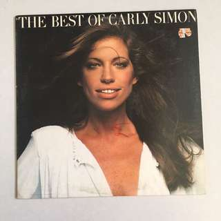 Vintage Vinyl Record - Carly Simon