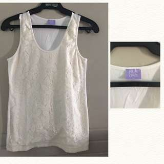 REPRICED! Purple Candy Lace Top