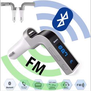 Car G7 Wireless Bluetooth FM Transmitter Modulator Car MP3 Player SD USB AUX car voltage protection