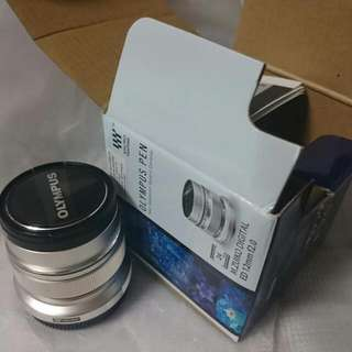 Olympus M Zuiko 12mm f2.0 lens