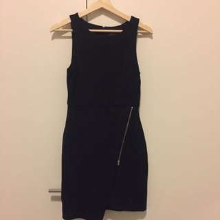 Size 8 Forever New Dress With Split Detail