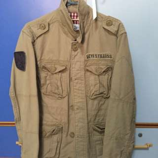 Levis Mens Desert Military jacket (high quality)(new)