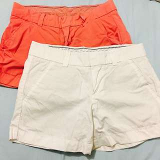 2x Uniqlo Chino Shorts