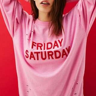 NEW! Sweater Bershka