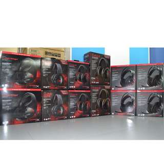 Kingston HyperX Gaming Headset promotion - PM for Carousell Special prices