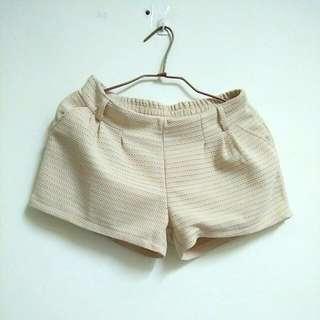 米白韓版褲子