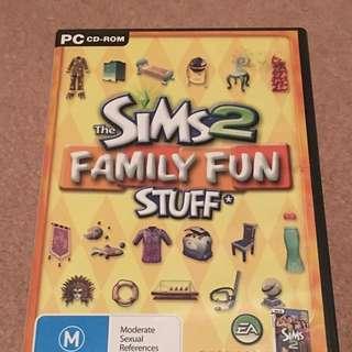 The Sims 2 Family Fun Stuff