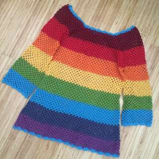 Rainbow Crochet Too