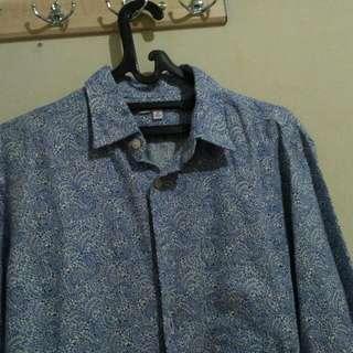 Uniqlo Liberty Long Sleeve Shirt Size M