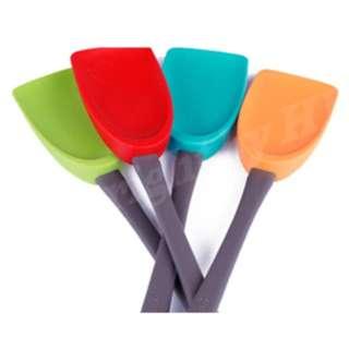 (預訂) 韓國矽膠煮食用具 - 鏟(大) (Sillymann) 適用於Bruno, Recolte, 玫瑰鍋或其他廚具