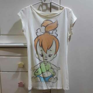 NEW Flintstones Tshirt M