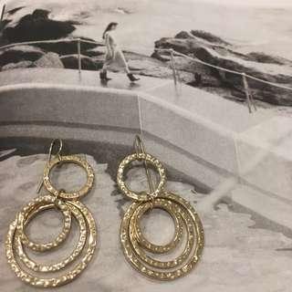 Beautiful Gold Earings