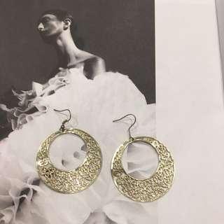 Lovely Gold Earrings