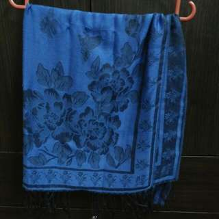Pashmina Blue & Shawl Blink Purple