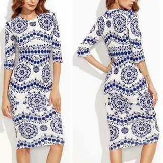 Dianne Aztec Dress