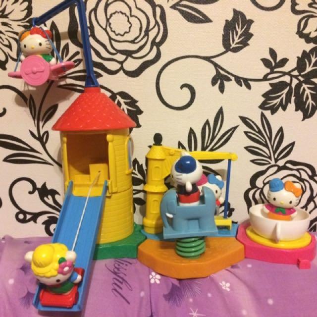 2001年 麥當勞玩具 Kelli kitty樂園 二手玩具