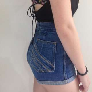 Sass And Bide Denim Shorts