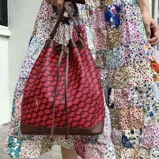 Roberta Di Camerino Designer Vintage Bucket Bag