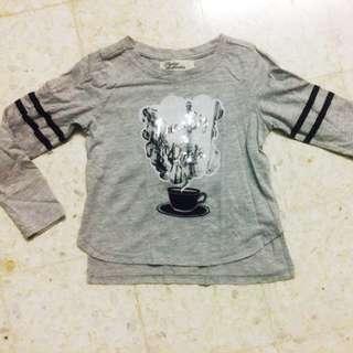 padini authentics long sleeve shirt