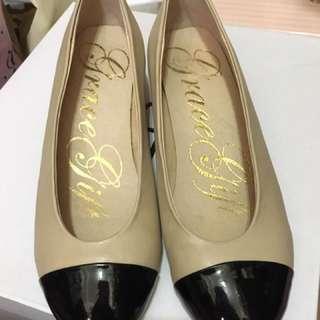 Grace Gift 平底鞋 低跟鞋 娃娃鞋