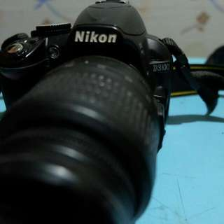 Nikon D3100 with 18-55mm lens