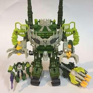 變形金剛 狂派基地機器人組合